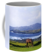 Horse Grazing In A Field, Beara Coffee Mug