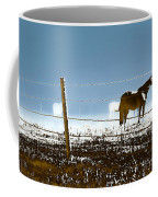 Horse Pasture Revdkblue Coffee Mug