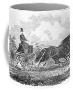 Horse Racing, 1862 Coffee Mug