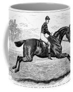 Horse Racing, 1880s Coffee Mug