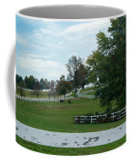 Horses On The Farm 1 Coffee Mug