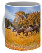 Horses Running Free Coffee Mug