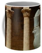 Horus Temple Of Edfu Egypt Coffee Mug by Bob Christopher