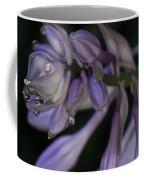 Hosta Blossoms With Dew Drops 6 Coffee Mug