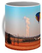 Hot Air Balloon Near Limerick Pa Coffee Mug