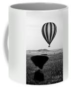 Hot Air Balloon Shadows Coffee Mug
