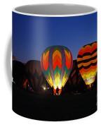 Hot Air Balloons At Dusk Coffee Mug