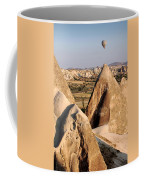 Hot Air Balloons Over Cappadocia Coffee Mug by RicardMN Photography