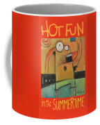 Hot Fun In The Summertime Poster Coffee Mug