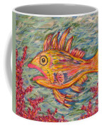 Hot Lips The Fish Coffee Mug