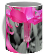 Hot Pink Cactus Coffee Mug by Kaye Menner