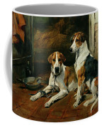 Hounds In A Stable Interior Coffee Mug