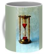 Hour Glass Dripping Blood Coffee Mug