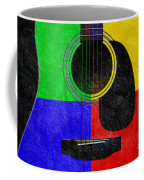Hour Glass Guitar 4 Colors 1 Coffee Mug