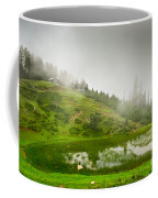 House And Fog Coffee Mug by Syed Aqueel