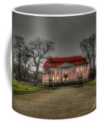 House Illuminated And With Trees Branches Coffee Mug
