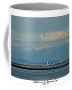 Dungeness Spit Lighthouse - Mt. Baker - Washington Coffee Mug