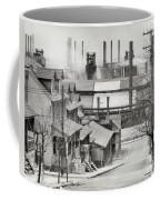 Houses And Steelmill Coffee Mug
