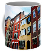 Houses In Boston Coffee Mug
