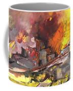 Houses In Fire Coffee Mug