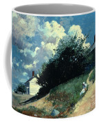 Houses On A Hill Coffee Mug
