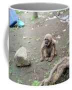 Howling Baby Monkey Coffee Mug