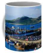 Howth Harbour & Irelands Eye, Co Coffee Mug