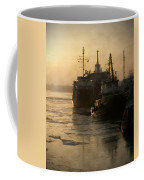 Huddled Boats Coffee Mug