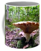 Huge White Wild Mushroom Coffee Mug