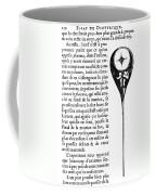 Human Sperm - 17th Century Coffee Mug