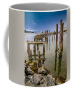 Humboldt Bay Over Darkening Skies Coffee Mug