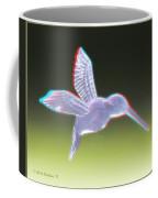 Hummingbird - Use Red-cyan 3d Glasses Coffee Mug