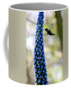 Hummingbird And Flower Coffee Mug