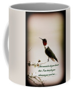 Hummingbird - Cards Coffee Mug