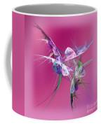 Hummingbird Fantasy Abstract Coffee Mug