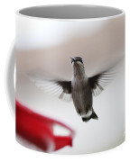 Hummingbird Flying Coffee Mug