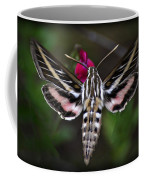 Hummingbird Moth - White-lined Sphinx Moth Coffee Mug