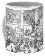 Humphrey Davy Lecturing, 1809 Coffee Mug by Science Source