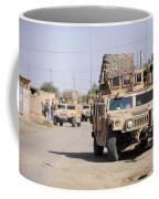 Humvees Conduct Security Coffee Mug