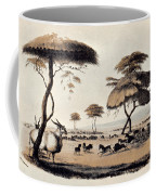 Hunting At Meritsane, Coffee Mug
