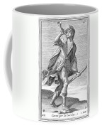 Hunting Horn, 1723 Coffee Mug