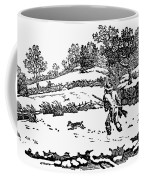 Hunting: Winter, C1800 Coffee Mug