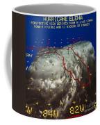 Hurricane Elena In 3-d Coffee Mug
