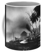 Hurricane In The Caribbean Coffee Mug