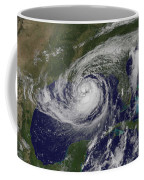 Hurricane Isaac In The Gulf Of Mexico Coffee Mug
