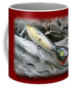 Husband Anniversary Card - Saltwater Fishing Lure - Popper Coffee Mug