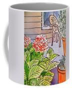 Hydrangea Sketchbook Project Down My Street Coffee Mug by Irina Sztukowski