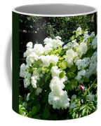 Hydrangeas And A Rose Coffee Mug
