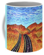 I - 15 Nevada To California Coffee Mug