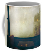 I Just Sat There Staring Out At The Fog Coffee Mug by Laurie Search